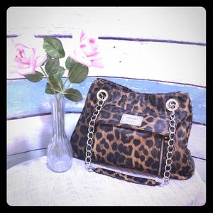 Nicole By Nicole Miller Animal Print Purse